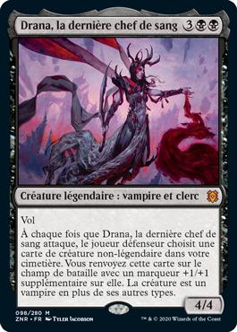 Drana, la dernière chef de sang