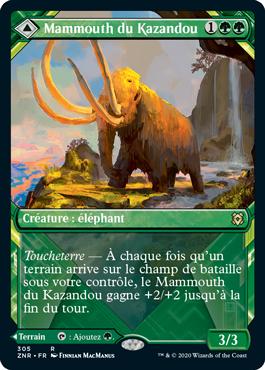 Mammouth du Kazandou