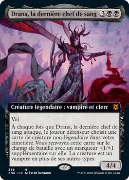 Drana, la dernière chef de sang à illustration étendue
