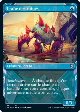 Crabe des ruines