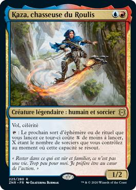 Kaza, chasseuse du Roulis