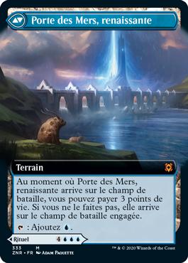 Porte des Mers, renaissante