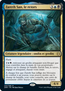 Zareth San, le retors