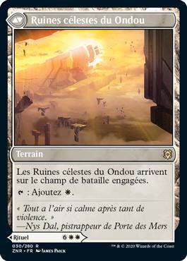 Ruines célestes du Ondou