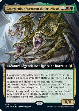 Grakgueule, dévastateur du fort céleste