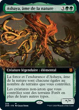 Ashaya, âme de la nature