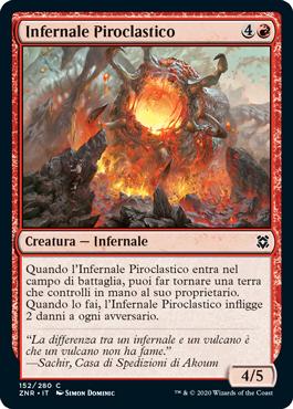 Infernale Piroclastico
