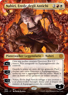 Nahiri, Erede degli Antichi senza bordo