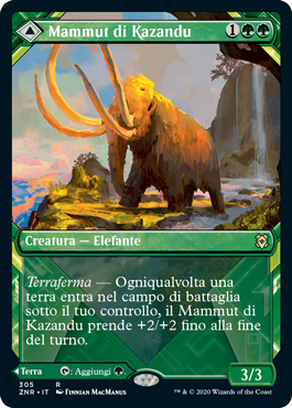 Mammut di Kazandu