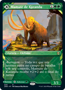 Mamute de Kazandu