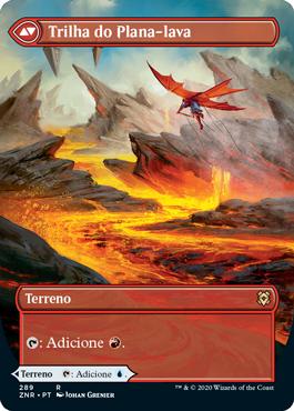 Trilha do Plana-lava