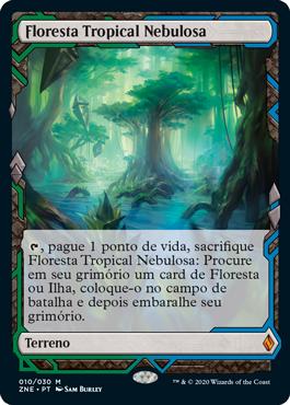 Floresta Tropical Nebulosa