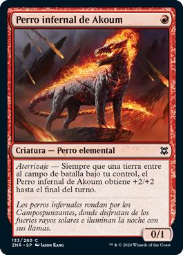 Perro infernal de Akoum