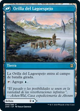 Orilla del Lagoespejo