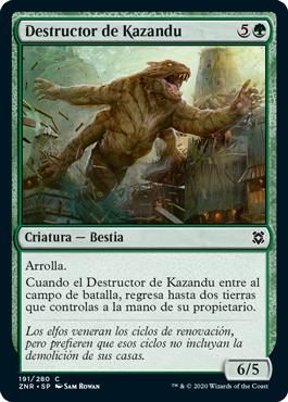 Destructor de Kazandu