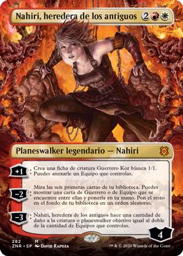 Nahiri, heredera de los antiguos sin borde