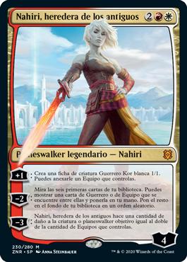 Nahiri, heredera de los antiguos