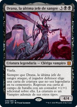 Drana, la última jefe de sangre