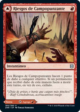 Riesgos de Campopunzante