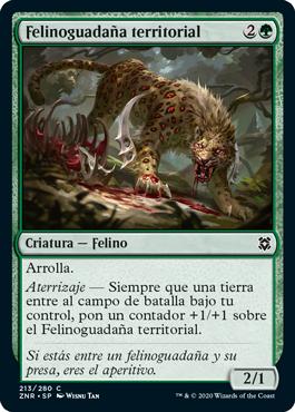 Felinoguadaña territorial