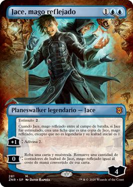 Jace, mago reflejado sin borde
