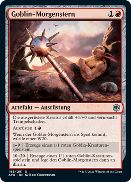 Goblin-Morgenstern