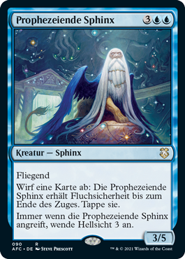 Prophezeiende Sphinx