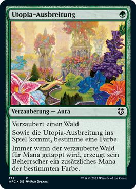 Utopia-Ausbreitung