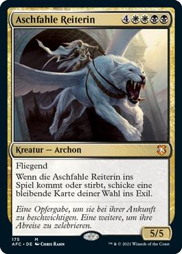 Aschfahle Reiterin
