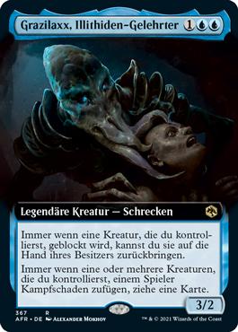 Grazilaxx, Illithiden-Gelehrter