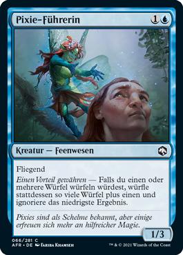 Pixie-Führerin