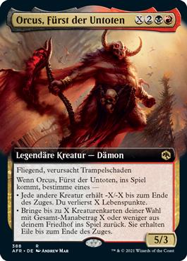 Orcus, Fürst der Untoten