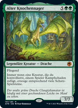 Alter Knochennager