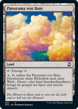 Panorama von Bant