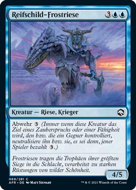 Reifschild-Frostriese