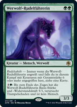 Werwolf-Rudelführerin