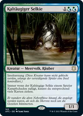 Kaltäugiger Selkie