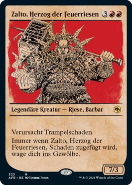 Zalto, Herzog der Feuerriesen