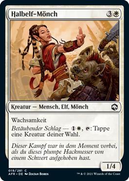 Halbelf-Mönch