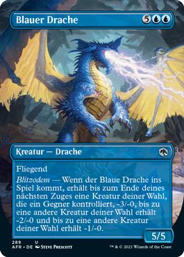 Blauer Drache