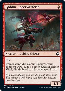 Goblin-Speerwerferin