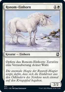 Ronom-Einhorn