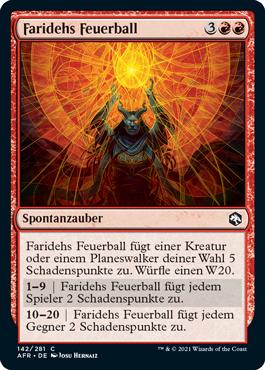 Faridehs Feuerball