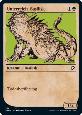 Unterreich-Basilisk