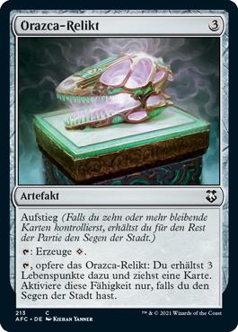 Orazca-Relikt