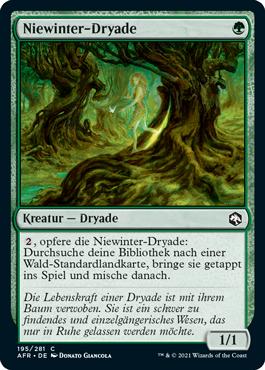 Niewinter-Dryade