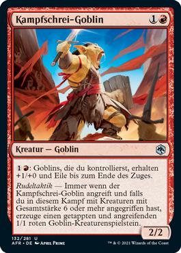 Kampfschrei-Goblin