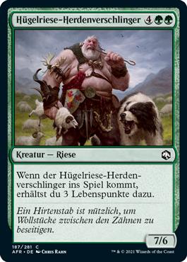 Hügelriese-Herdenverschlinger
