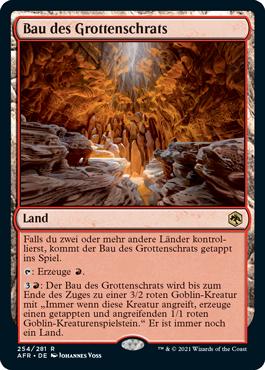 Bau des Grottenschrats
