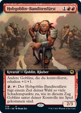 Hobgoblin-Banditenfürst
